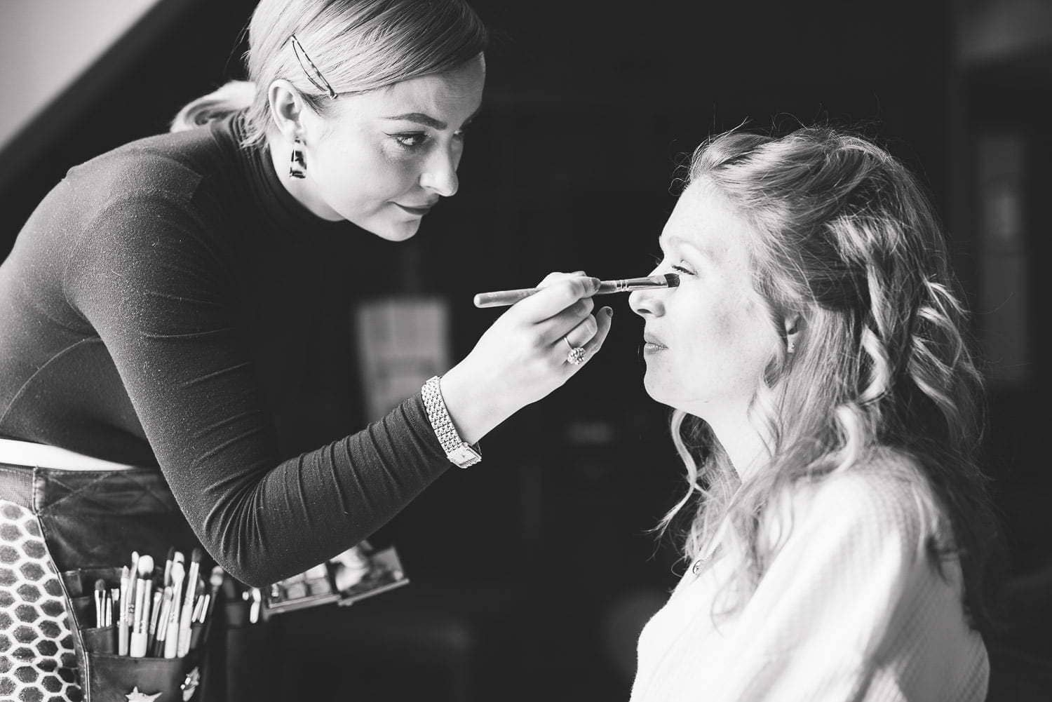 Bridal prep at Hotel Du Vin Edinburgh