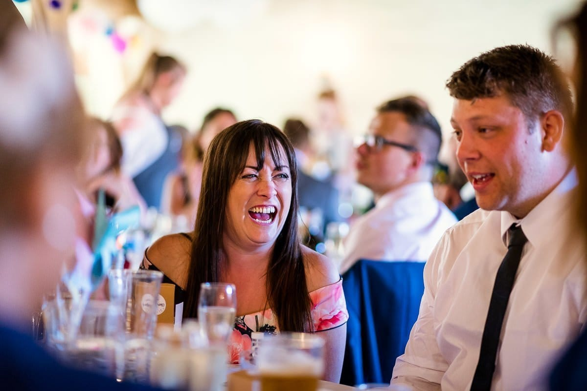 Hautbois Hall summer wedding reception 1