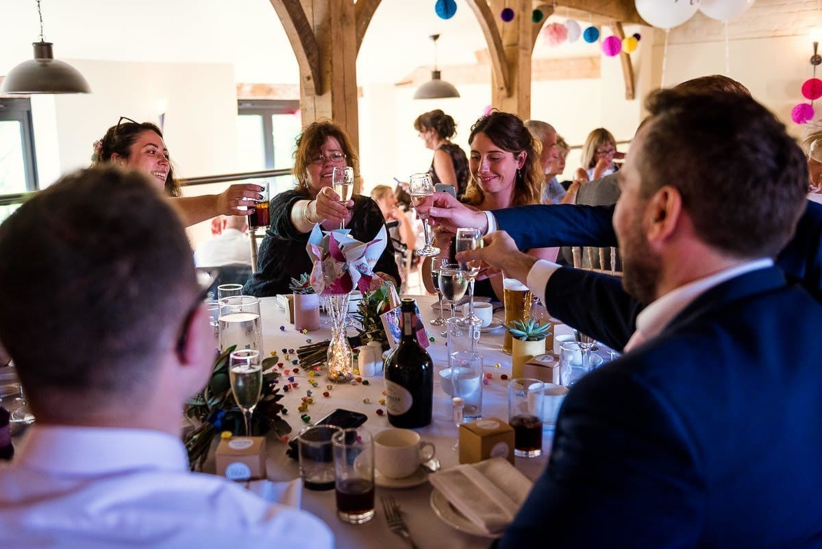 Hautbois Hall summer wedding reception 2
