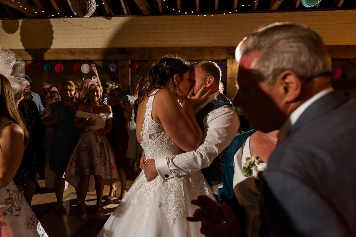 Hautbois Hall Summer Wedding first dance