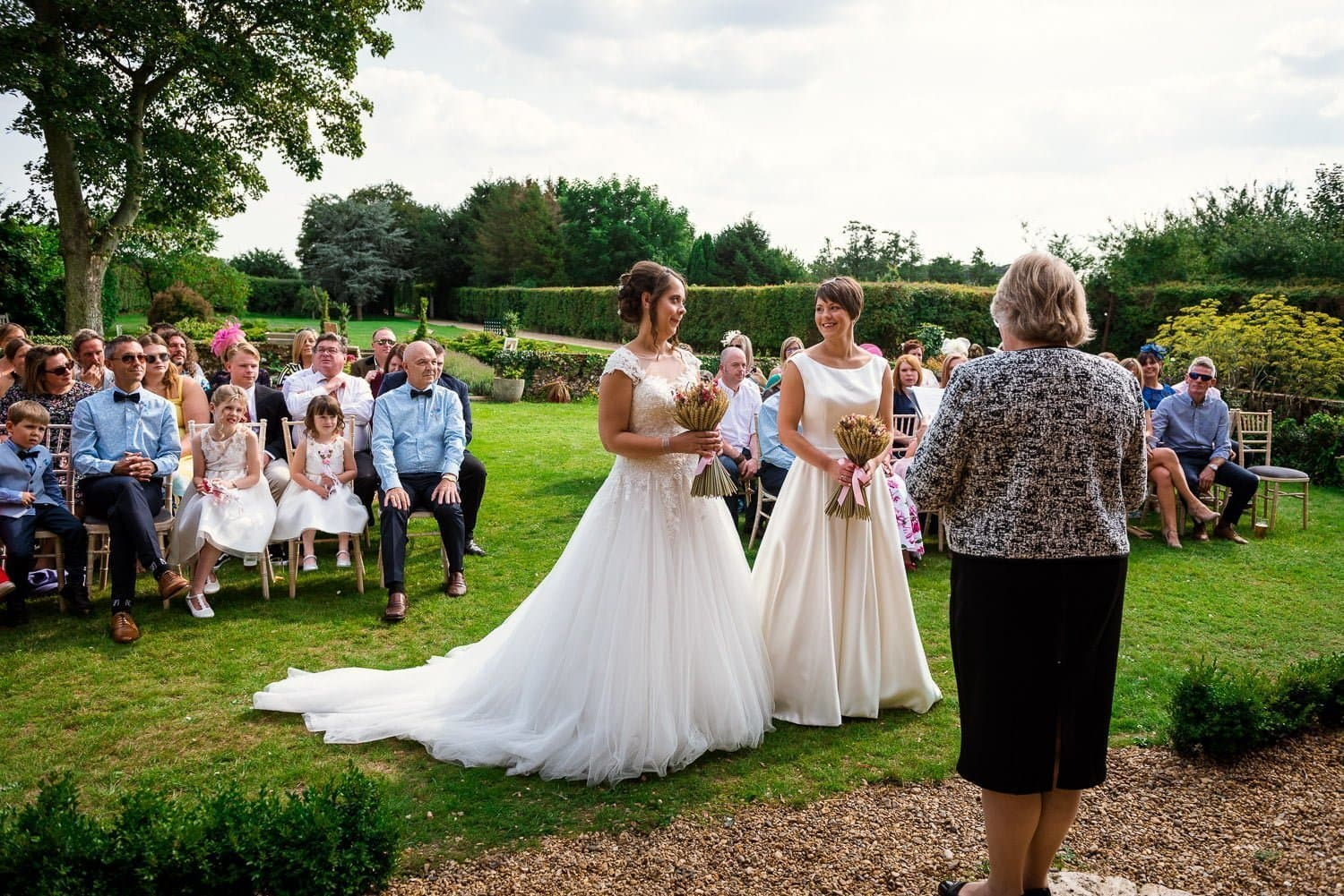 Hautbois Hall same sex wedding