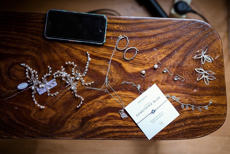 Bridal jewellery for norfolk wedding