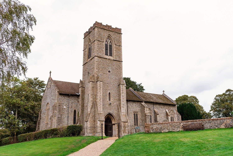 Hardingham Church Wedding
