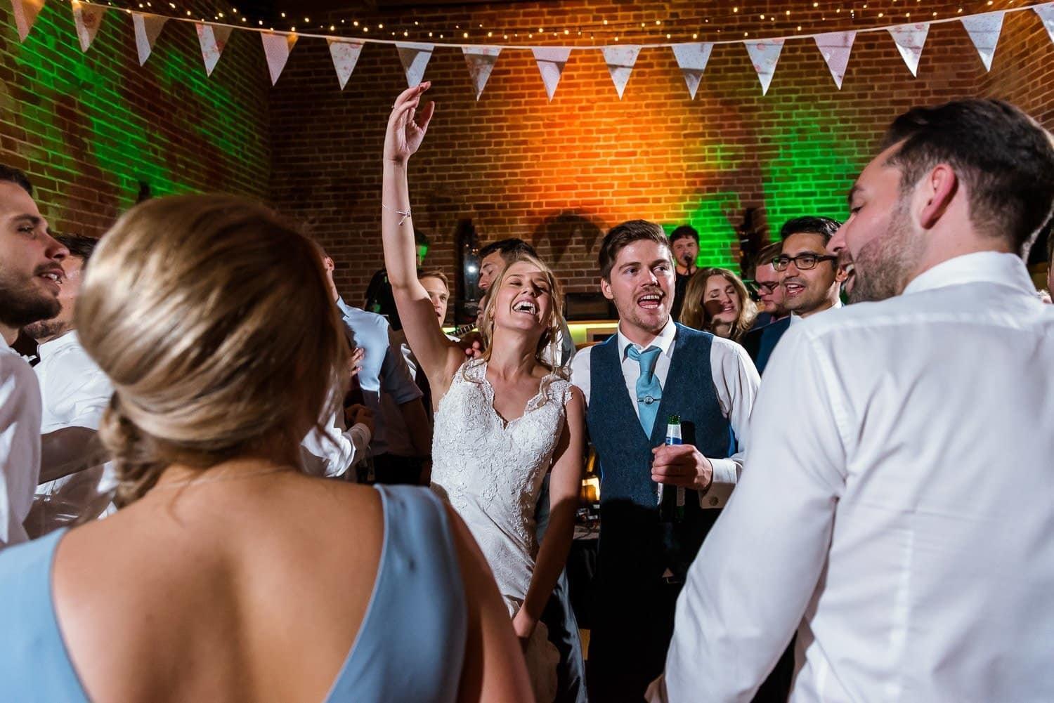 Amazing wedding reception at Southwood Hall