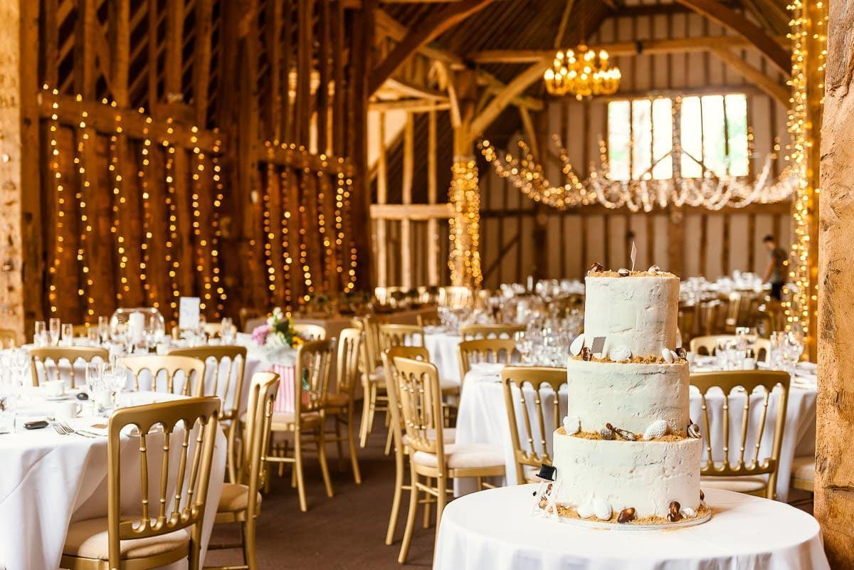 Blake Hall Wedding cake