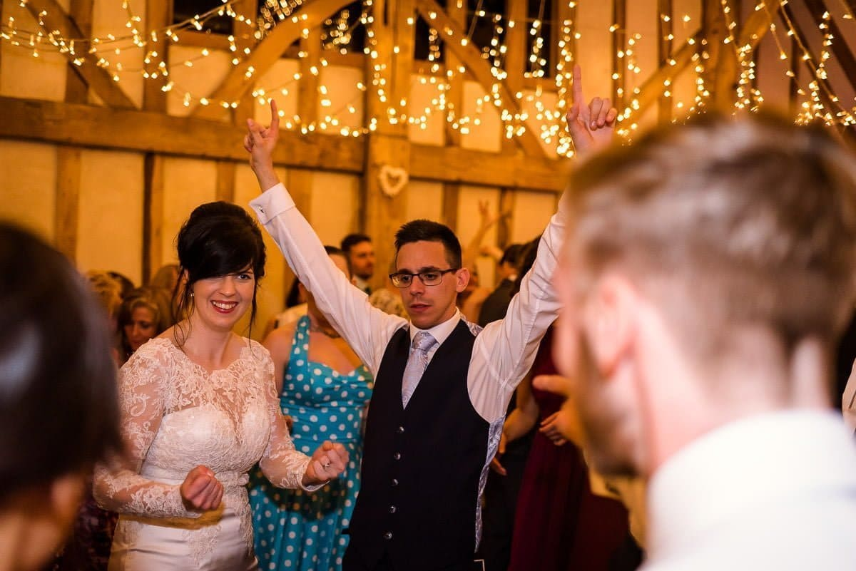 Jewish wedding reception at Blake Hall