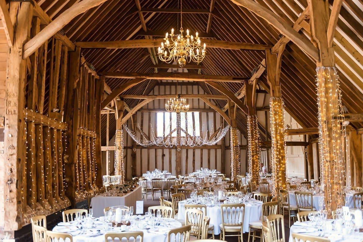 Essex wedding venue lighting