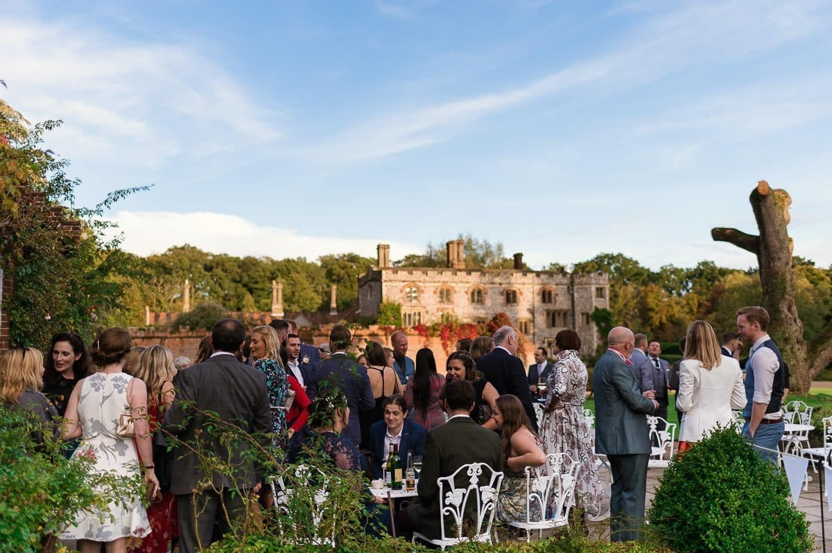 Mannington Hall Wedding Reception