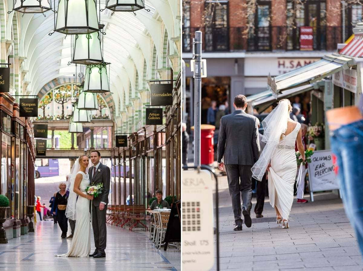 Bridal portraits in Norwich City