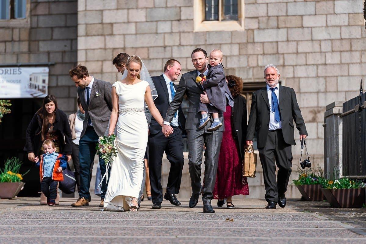 Norwich Castle wedding portraits