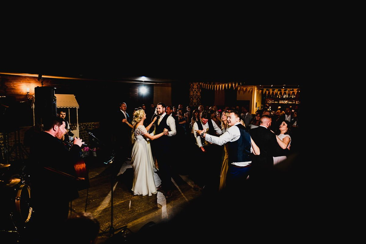 First Dance at White Hart Essex Barn