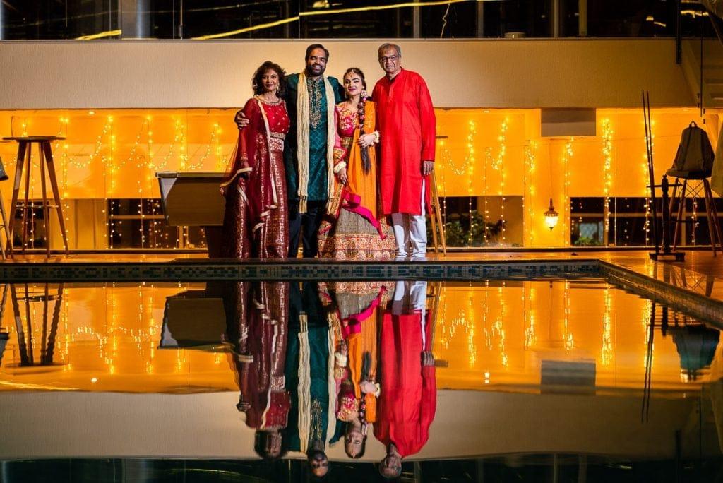 Iconic indian wedding family portraits