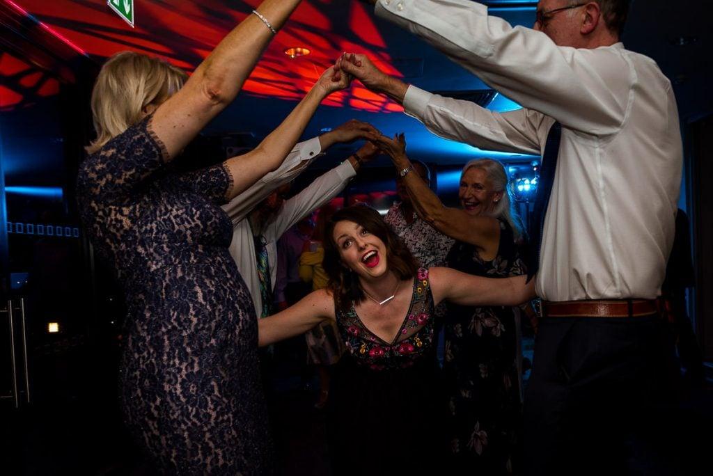 Norfolk Mead Hotel wedding reception photography