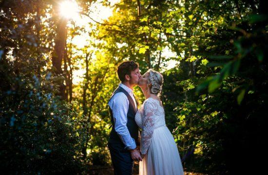 Unposed couple portraits at Mount Amelia boho wedding