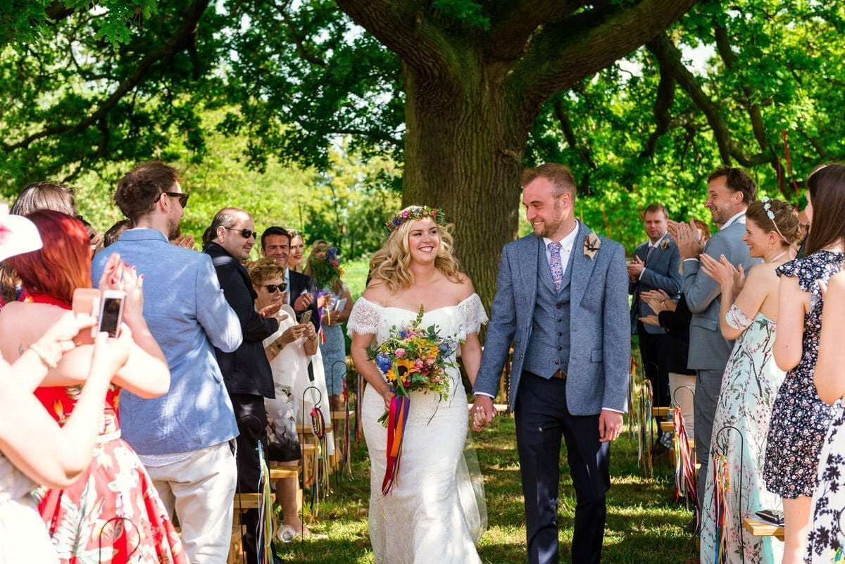 Rookery Meadow festival wedding