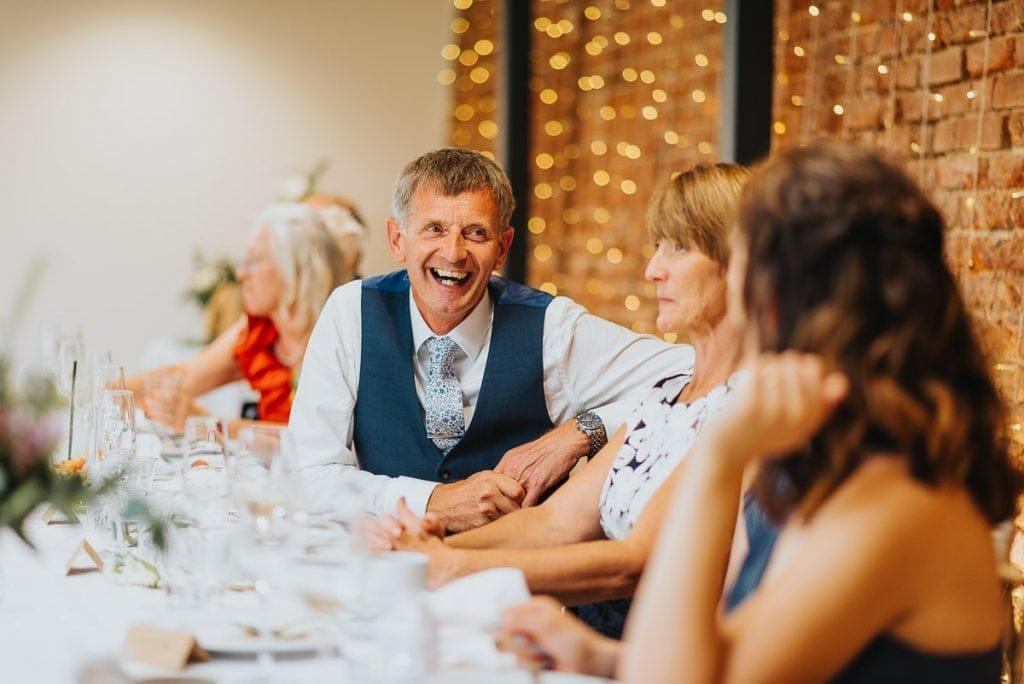 Wedding speeches at Norfolk Mead Hotel