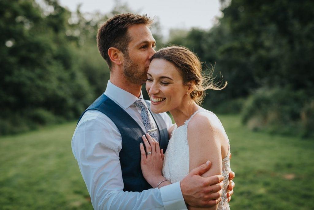 Beautiful wedding portraits at Norfolk Mead Hotel wedding