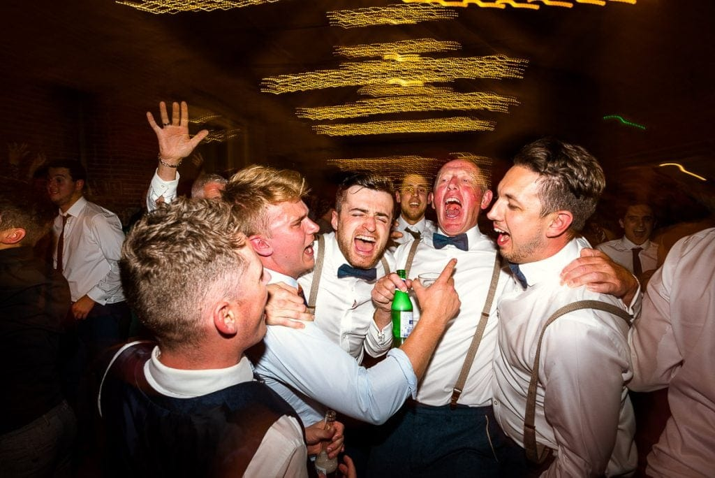 Singing at Manor Mews wedding reception party