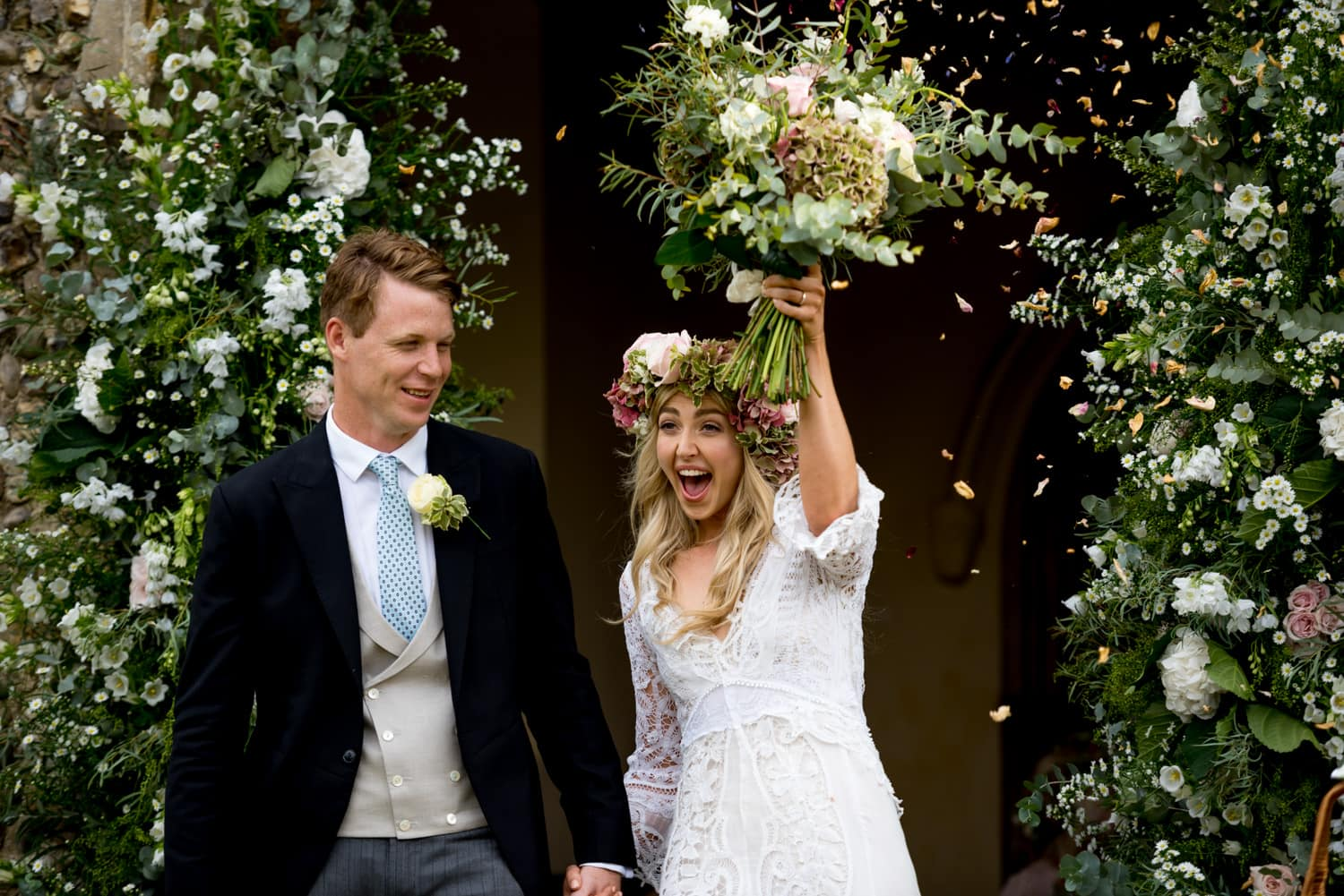 Boho Wedding in Suffolk