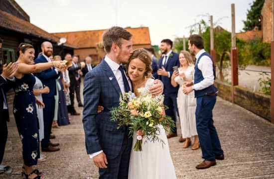 Small and Intimate Wedding - Glebe Farm Barn